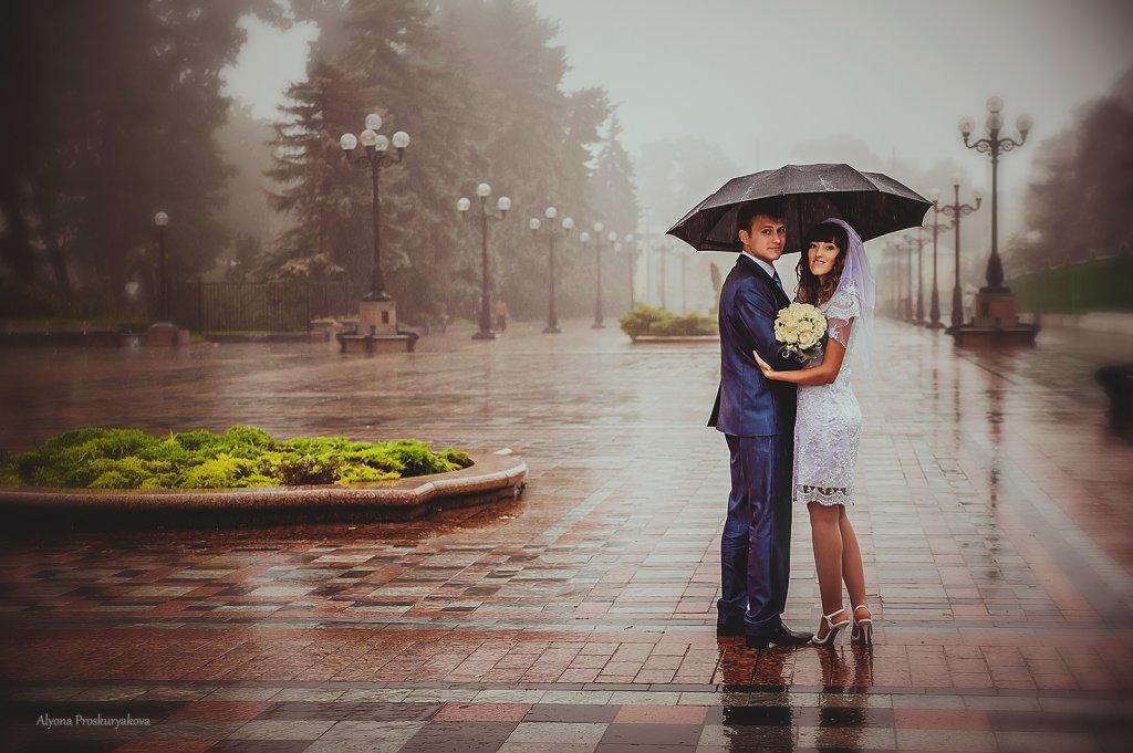 фото при дожде